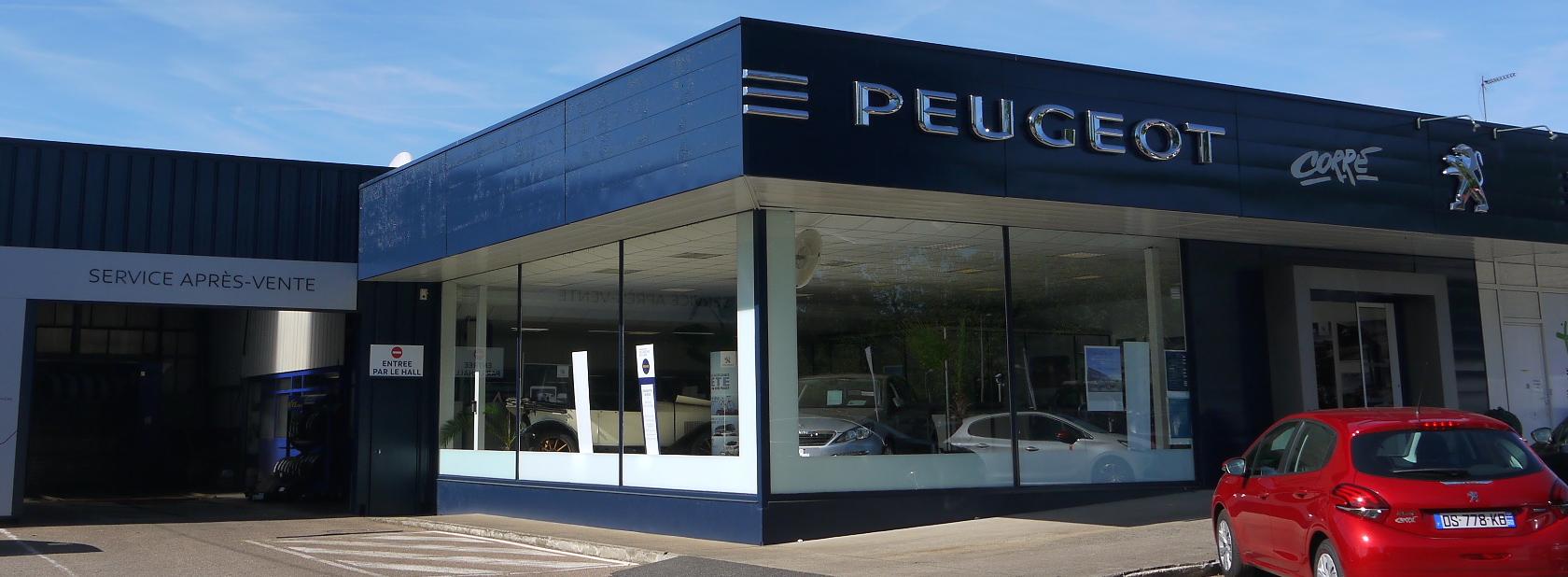 Peugeot Corre concession