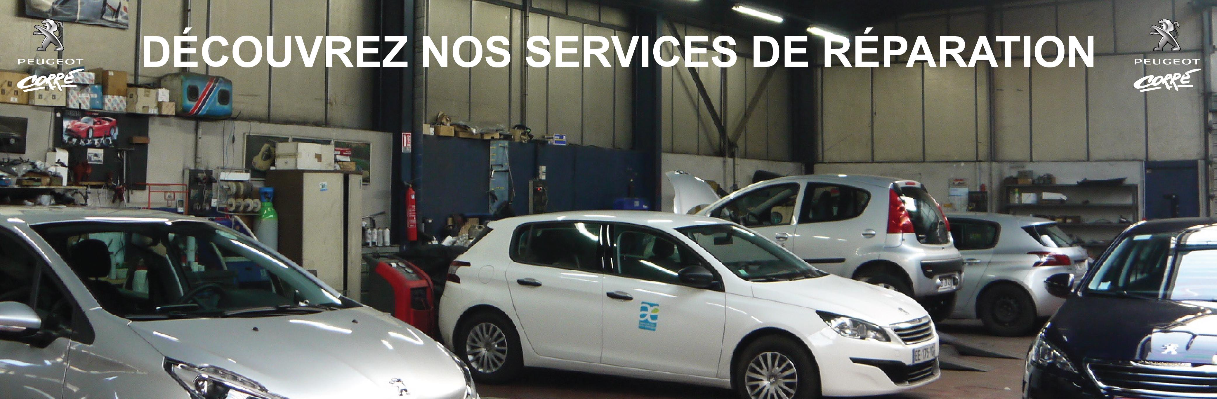 Nos services de réparation Orléans